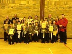 Cameron's School Of Martial Arts Gairloch Grading - September 2012
