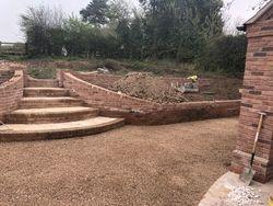 Great split level garden