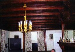 Much of the original woodwork