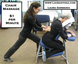 Chair Massage - At Body In Balance