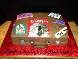 Drama Club Travel Cake