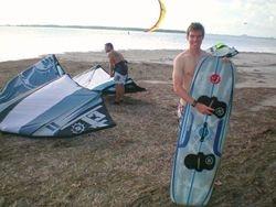 Josh - Kiss The Sky Kiteboarding kitesurfing