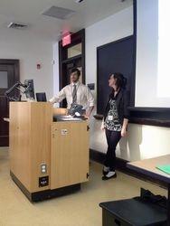 Rurik and Lauren, presenters