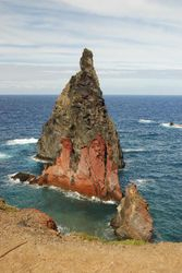 The view from the walk to Baia d'Abra at the East tip of Madeira