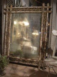 #14/198 Wooden Frame Mirror