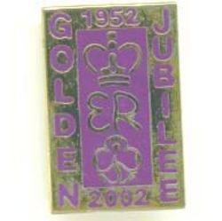 2002 Queen's Jubilee Metal
