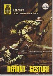 Leisure World Libraries War Comic # 1