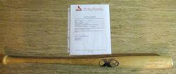 Albert Pujols 2005 Game Used Natural X Bat With Cardinals Papers