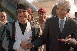 Mandela and Khadafi