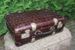 Antikvarinis lagaminas. Kaina 42 Eur.