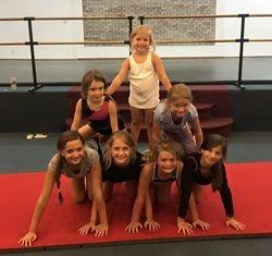 Cheer team fun!