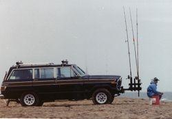 my  old wagoneer fishmobile