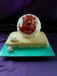 Wilson Ball Cake (from castaway)