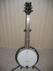 Dean Backwoods 6 String Banjo.