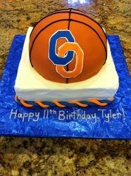 Basketball Team Cake (Local School)