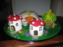 CAKE 14A2- Fairyland Garden - Front View
