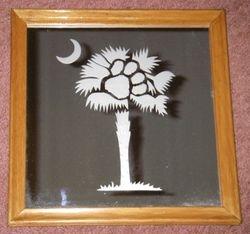 SC Clemson Palmetto Tree