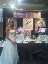 Bride and Groom wedding expo
