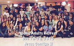 RETIRO JESUS CONTIGO SI DE DICIEMBRE 2015