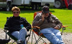 Marianne and Dwight Eisenhauer