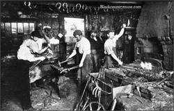Brewery Blacksmiths. c1909