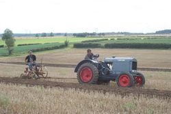 IH McCormick-Deering 10/20 and plough