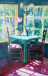 Sunny Window - Big Sur Inn Dining Area