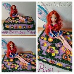 Bloom Fairy Cake