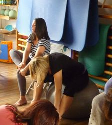 Massage/activation des pieds