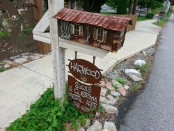 Custom Mail Box and Sign in Asheville