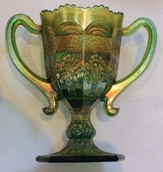 Orange Tree loving cup, green