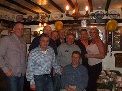 Tom Tyrone,Steve Grey, Lee Bronson,Mal Sanders,Frank Rimer,Steve Veidor, Wayne Bridges, Sarah Bridges,Pete Roberts