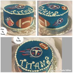 Tennessee Titians Cake