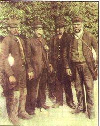Wednesbury Miners. c1900s