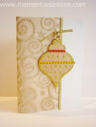 Twinkling Chipboard Ornament
