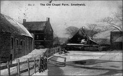 Smethwick Farm. c early 1900s.