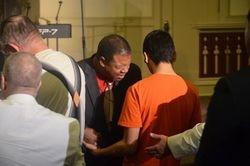 Pastor Rountree Praying
