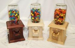 Wooden Candy Dispeser