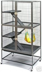 #485 Prevue Pet Products Feisty Ferret Cage Home