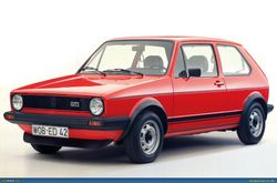 VW GOLF MARK 1 GTi