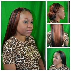 slant part tree braids using xpression hair