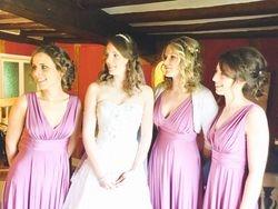 Stunning bridal half up down using Flip in