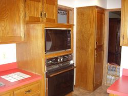 Before, removed stove and microwave