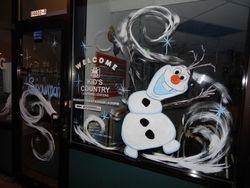 Winter Wonderland with Olaf!