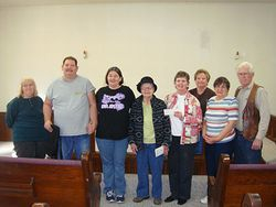 Donation from Members of Fort Ritner Church