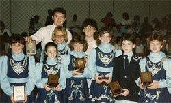Ceili Team Placing at Nationals 1987