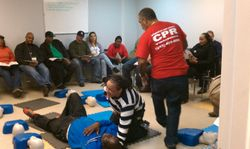 Teaching ADULT CPR