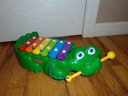 Fisher Price Alligator Xylophone Toy - $20