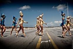 Las bailarinas de cabaret