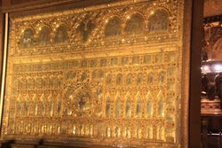 Gold alter at St. Mark's Basilica